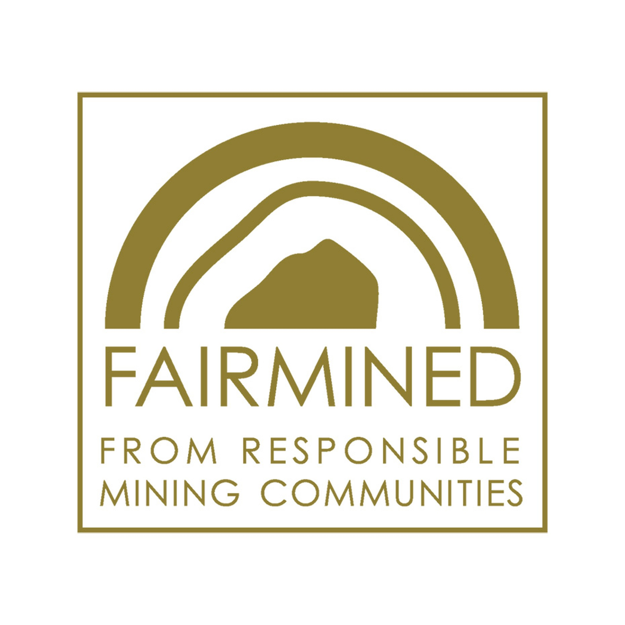 The new Fairmined logo sends a direct message about its core values, celebrating a new horizon in mining by focussing on the positive changes that take place in certified mining communities.