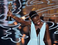 Oscars 2014: estate jeweller Fred Leighton dresses Lupita Nyongo for her award winning moment