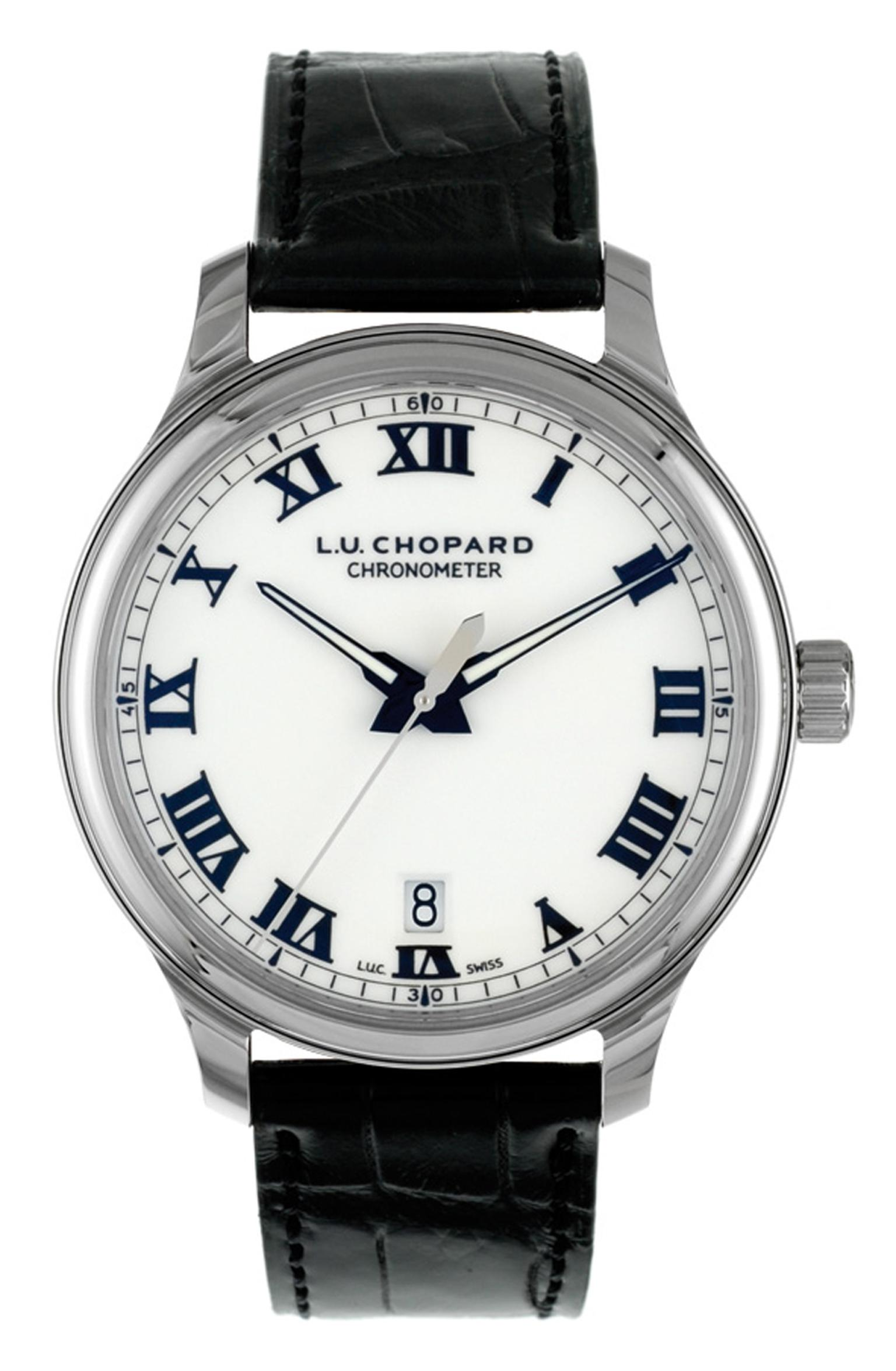 The stainless steel Chopard L.U.C 1937 Classic timepiece worn by Bradley Cooper to the 2014 Oscars