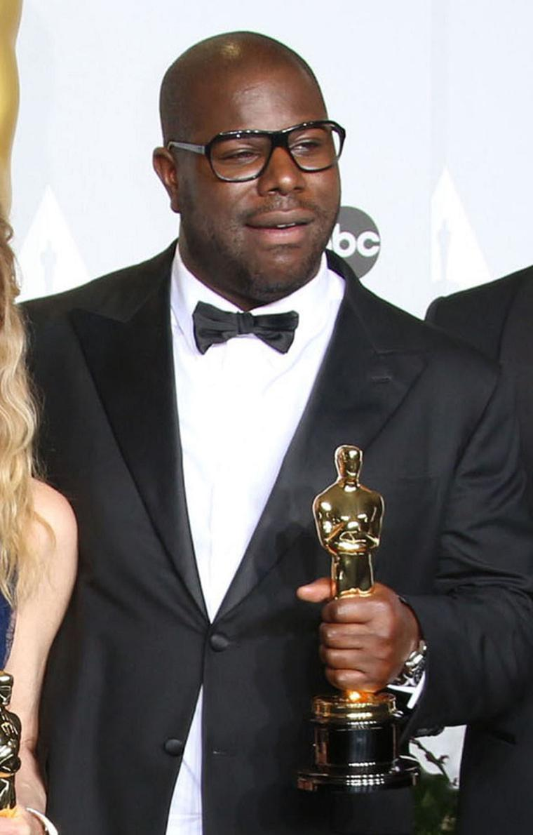 Steve McQueen, director of '12 Years a Slave', which won the Oscar for Best Film, looked sharp in a Montblanc Nicolas Rieussec Open Hometime watch on his wrist