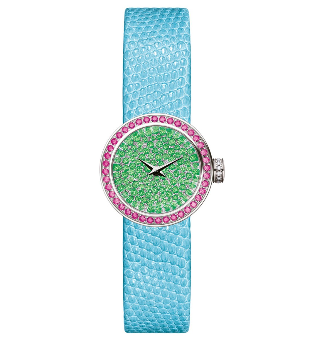 LA-MINI-D-DE-DIOR-SNOW-SET-DIAL-TSAVORITE-GARNETS-19mm