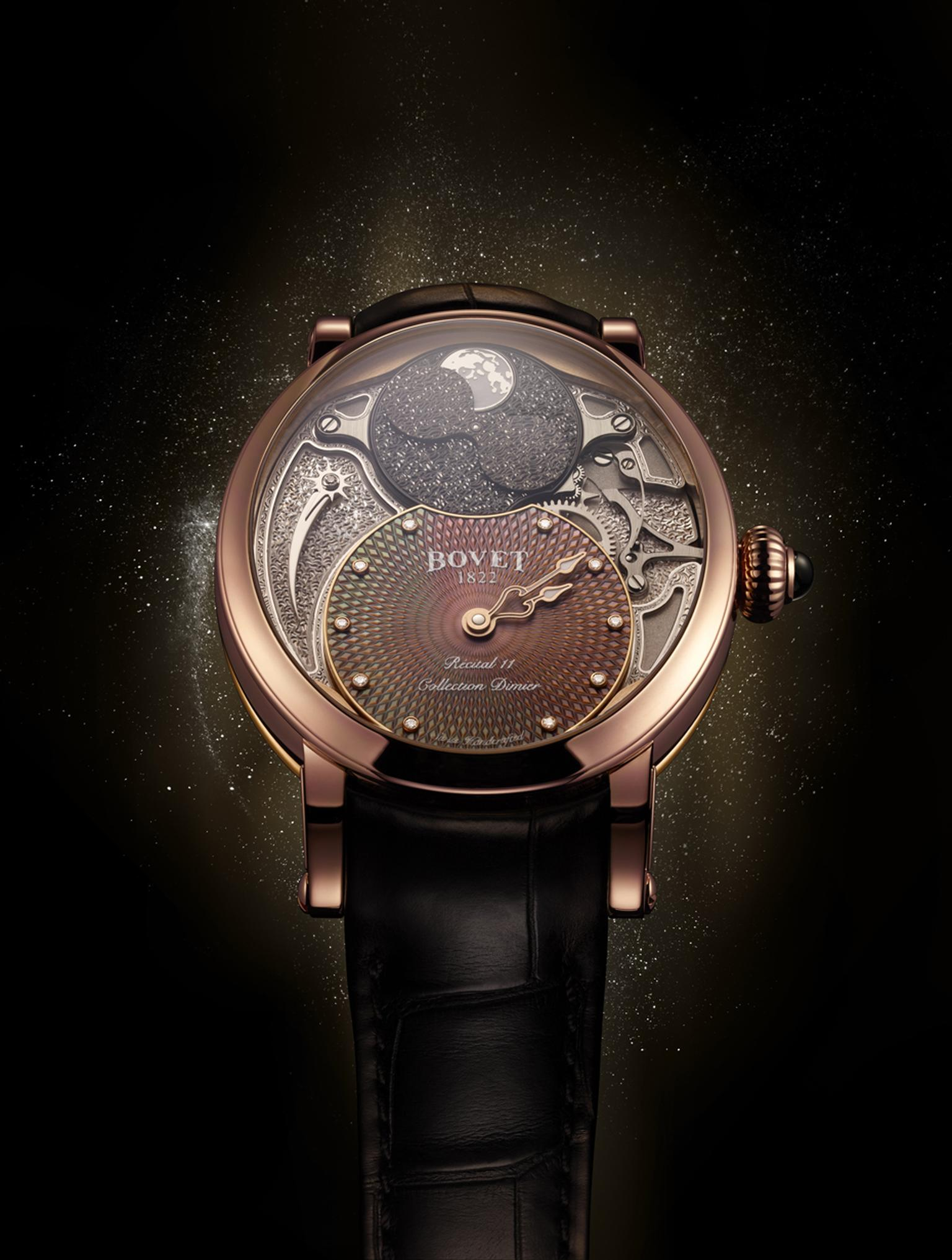 Bovet's Récital 11 Miss Alexandra Tourbillon is a showcase for Bovet's impeccable horological credentials