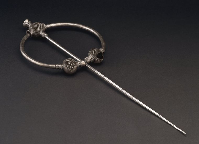 9th century silver Penrith Brooch from near Penrith, Cumbria, England. © The Trustees of the British Museum