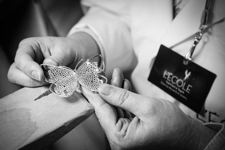 Don a white coat for the day and immerse yourself in a jewellery-making course at L'École Van Cleef & Arpels