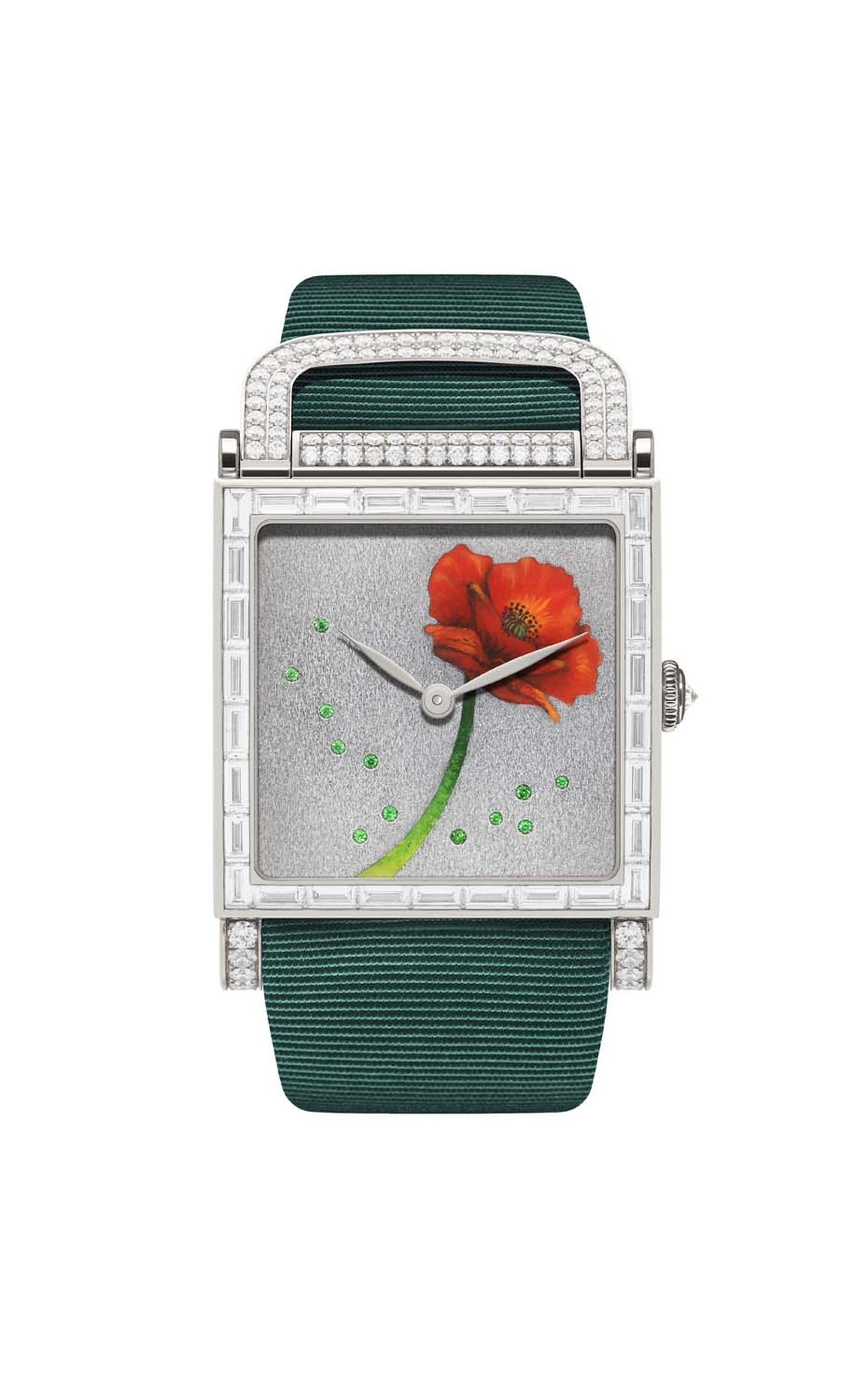 DeLaneau Dôme Poppy watch