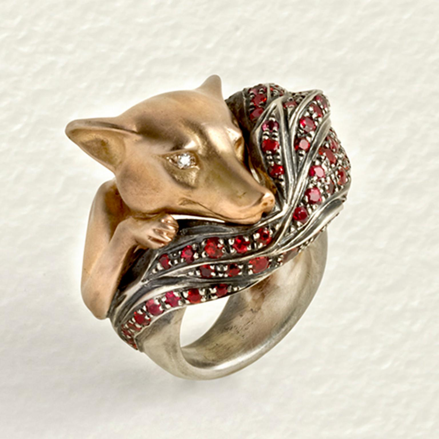 Elvira Cammarata Fox ring.