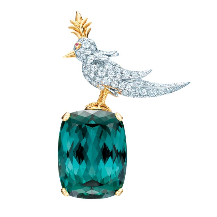 Jean Schlumberger Bird on a Rock Tiffany brooch