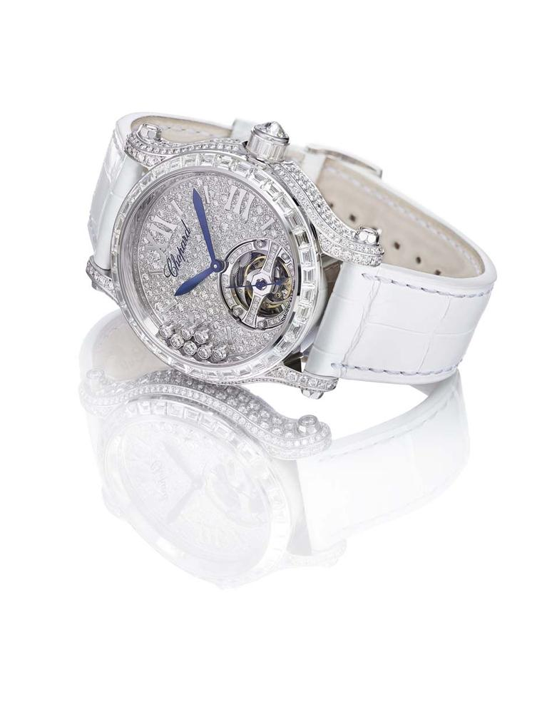 Chopard Happy Sport Tourbillon Joaillerie watch