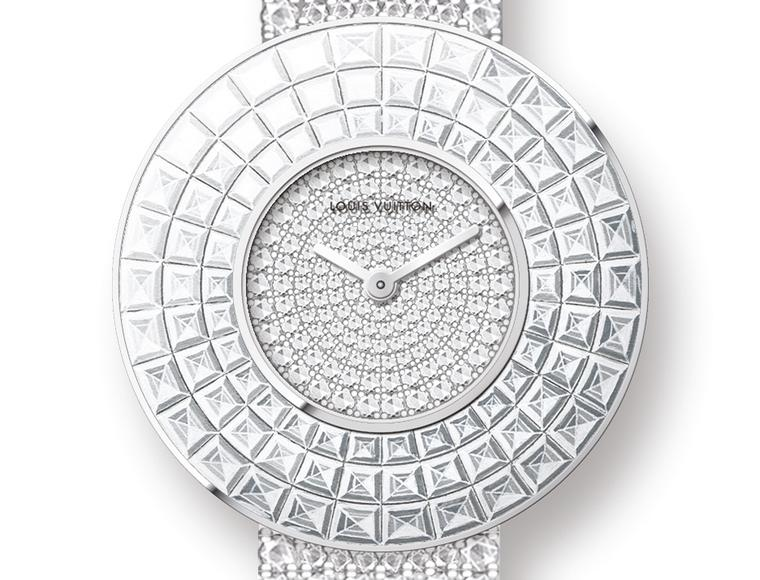 Baselworld 2014: new Louis Vuitton jewellery watches for women