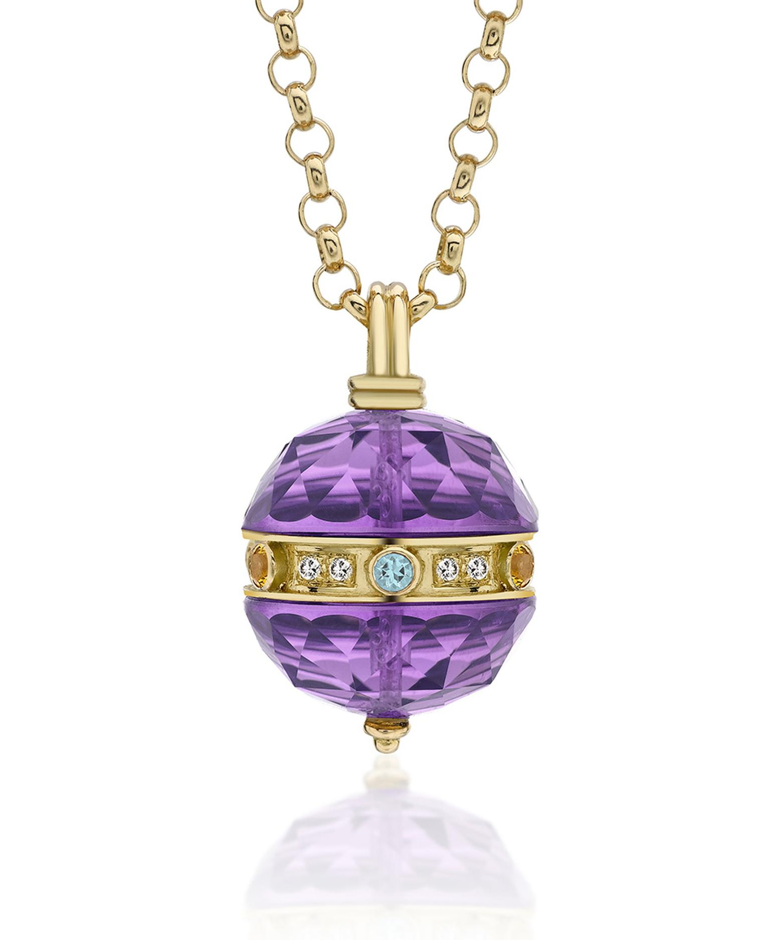 The glossy ripeness of purple quartz is fuelling the desirability of amethyst jewellery