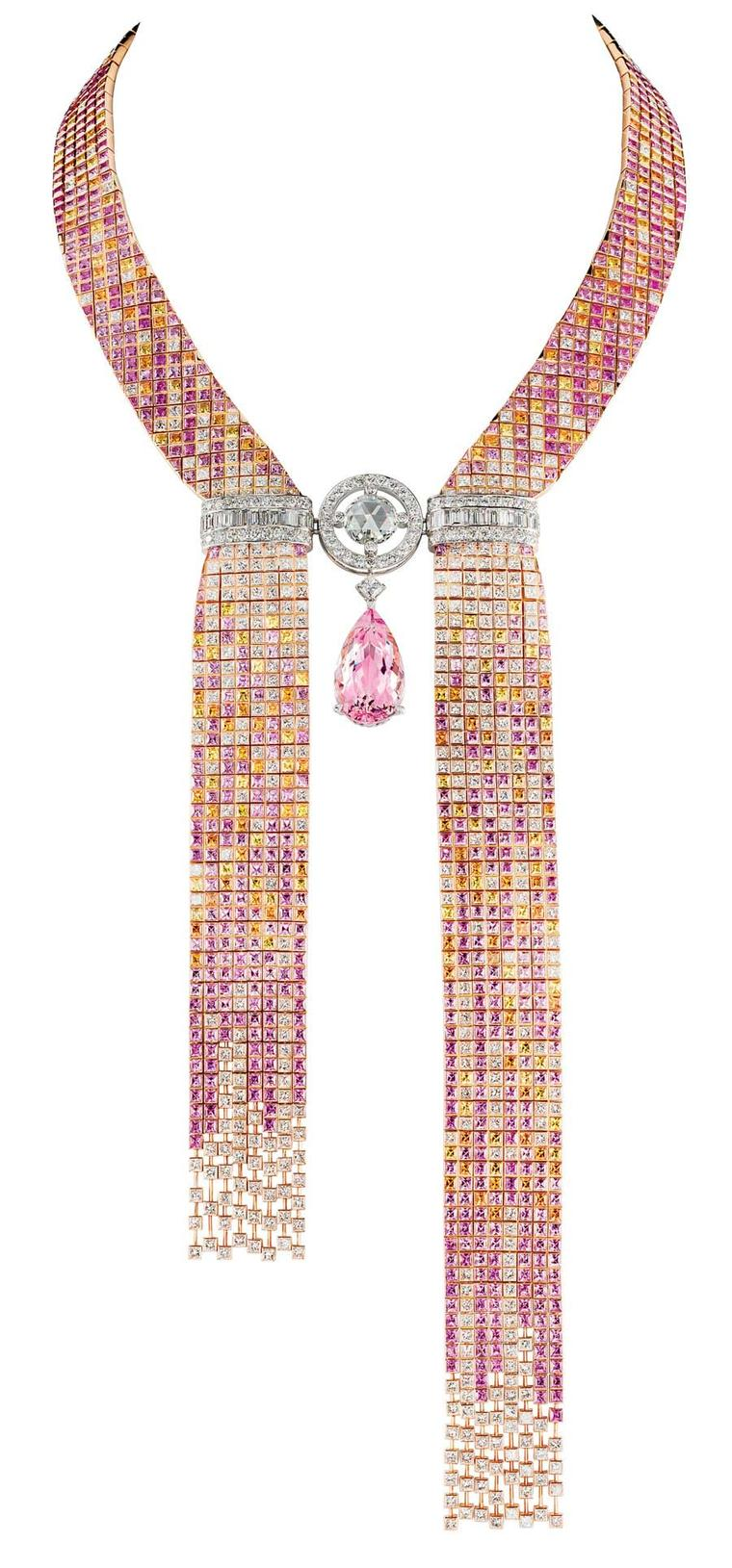 Boucheron Mosaique Delilah necklace.