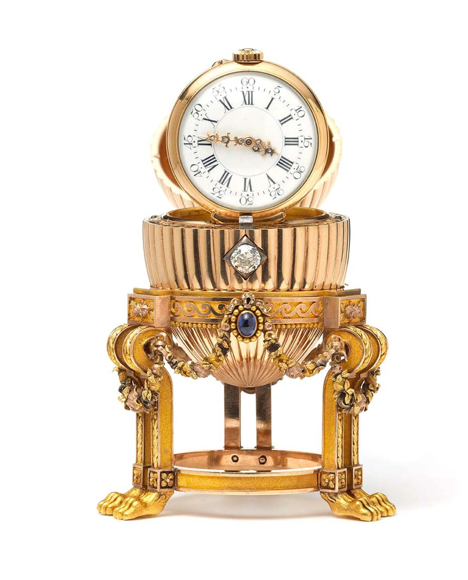 After missing for over a century, the Third Imperial Faberge Easter Egg, will be on display at Court Jewellers Wartski in Mayfair from April 14-17.