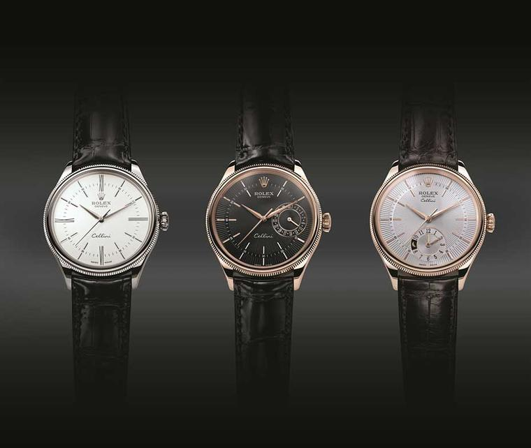 Baselworld watch review: the trio of new Rolex Cellini watches
