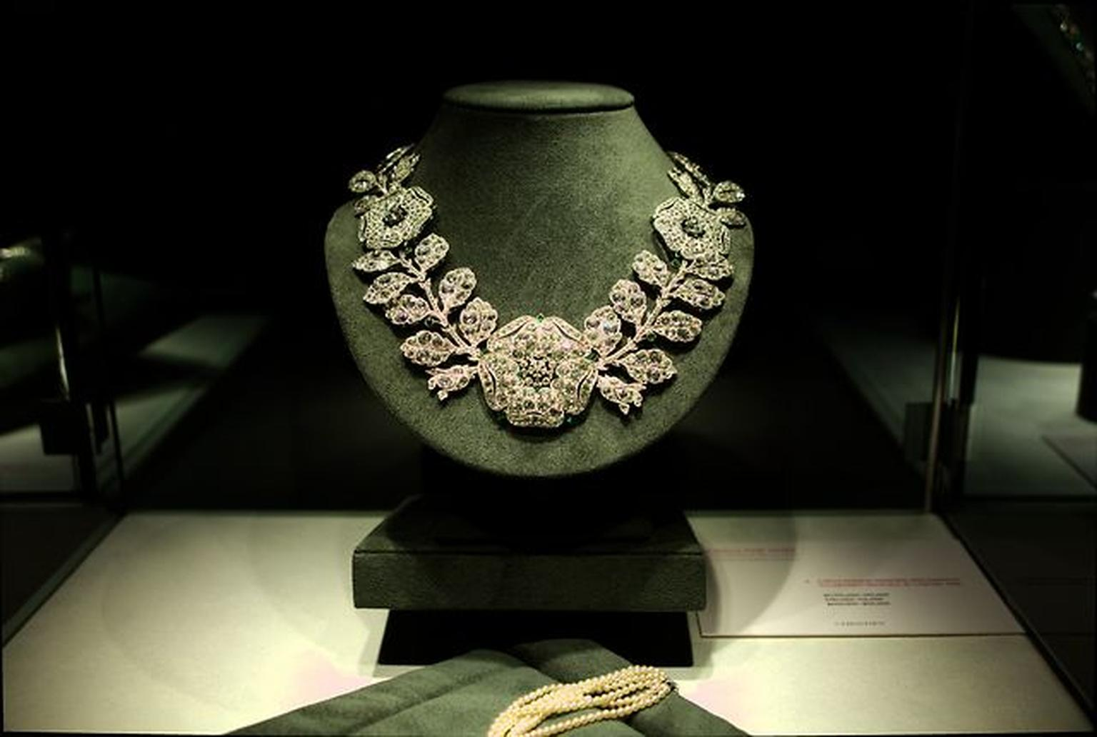Preview of Christies sale of Lily Safras jewels