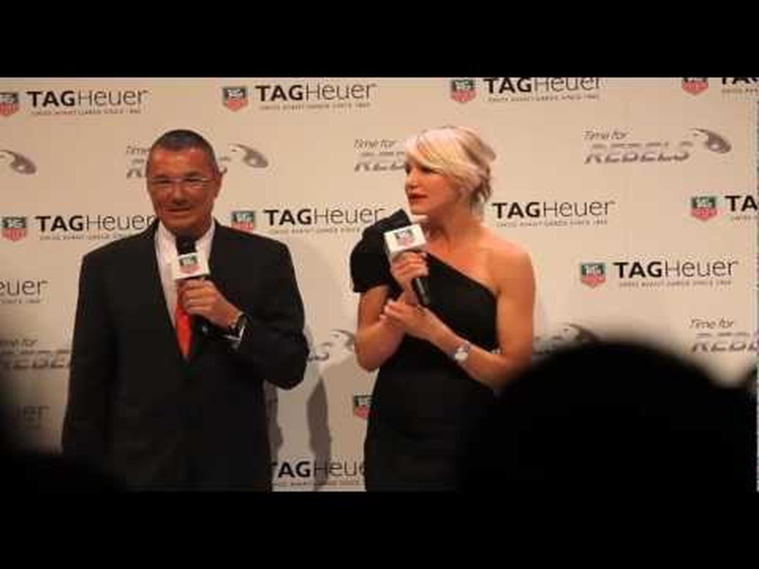 Cameron Diaz at TAG Heuer unveiling BaselWorld 2012