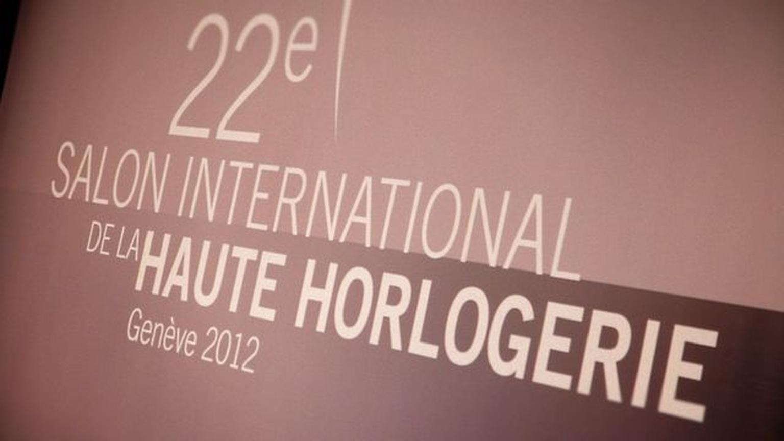 Salon international de la Haute Horlogerie 2012 Trailer
