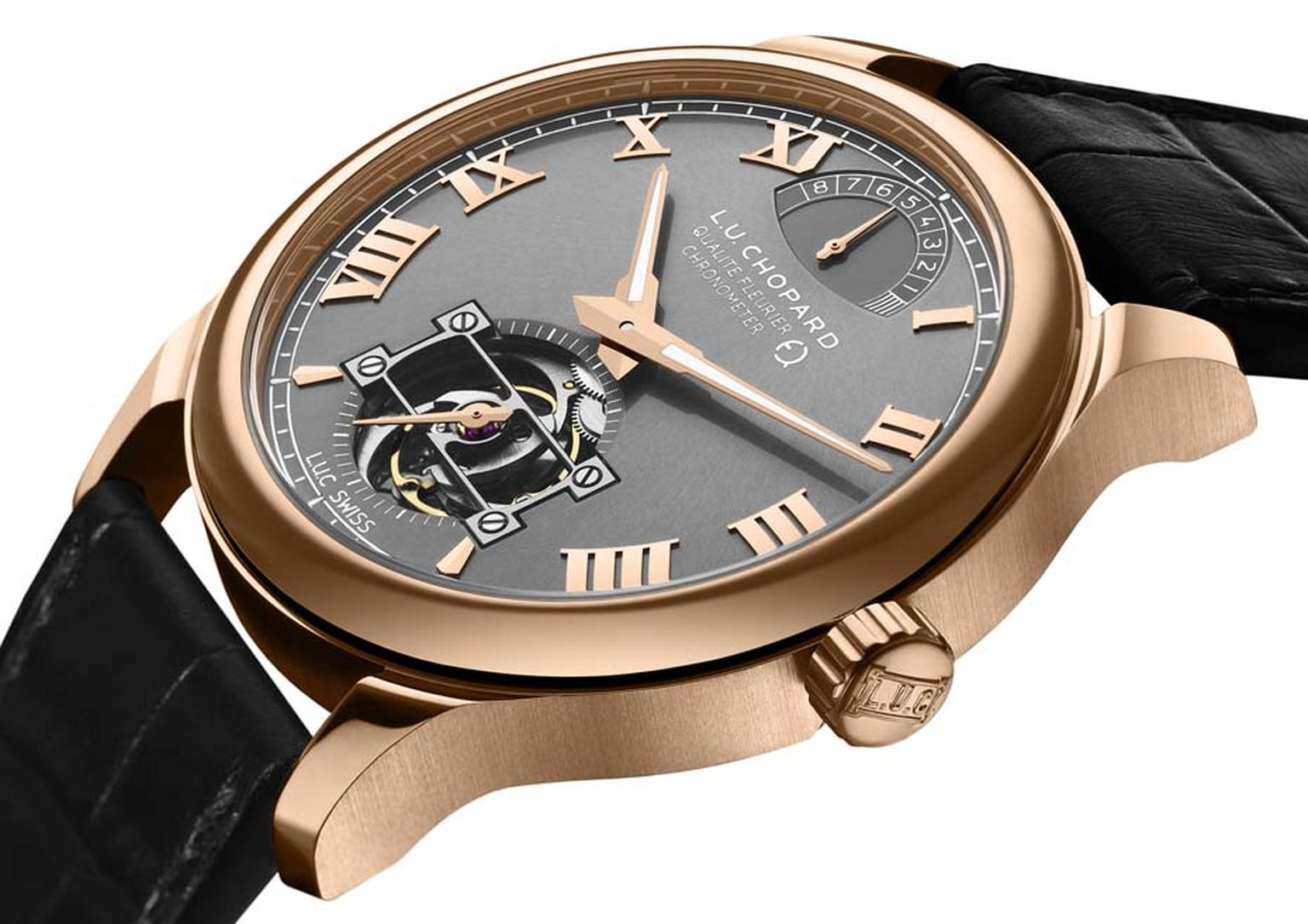 Chopard's new L.U.C Tourbillon QF Fairmined watch is the first watch in the world to be made entirely out of Fairmined gold