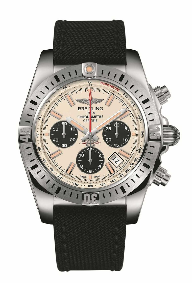Breitling notches up 30 years of its flagship Chronomat with the Chronomat Airborne, a reproduction of the original, which was made for the Italian air force's aerobatic display team, the Frecce Tricolore