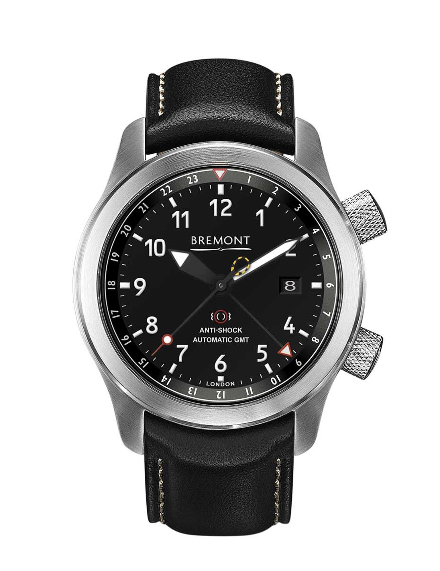 The new Bremont MBIII pilot's watch is a successor to the British watchmaker's MBs I and II with the addition of a GMT function