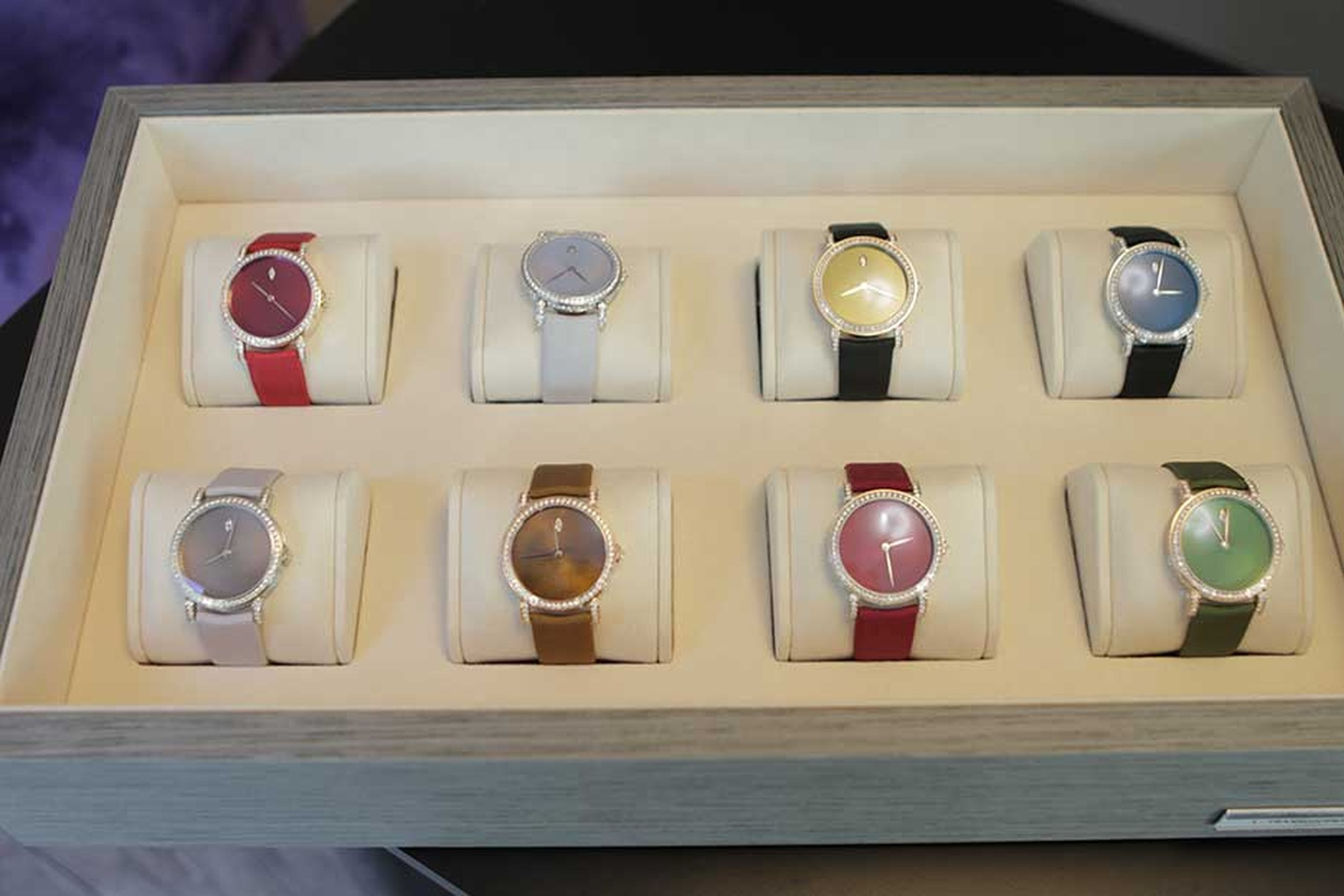 DeLaneau's newest colour offerings for their Rondo Translucent watch range.