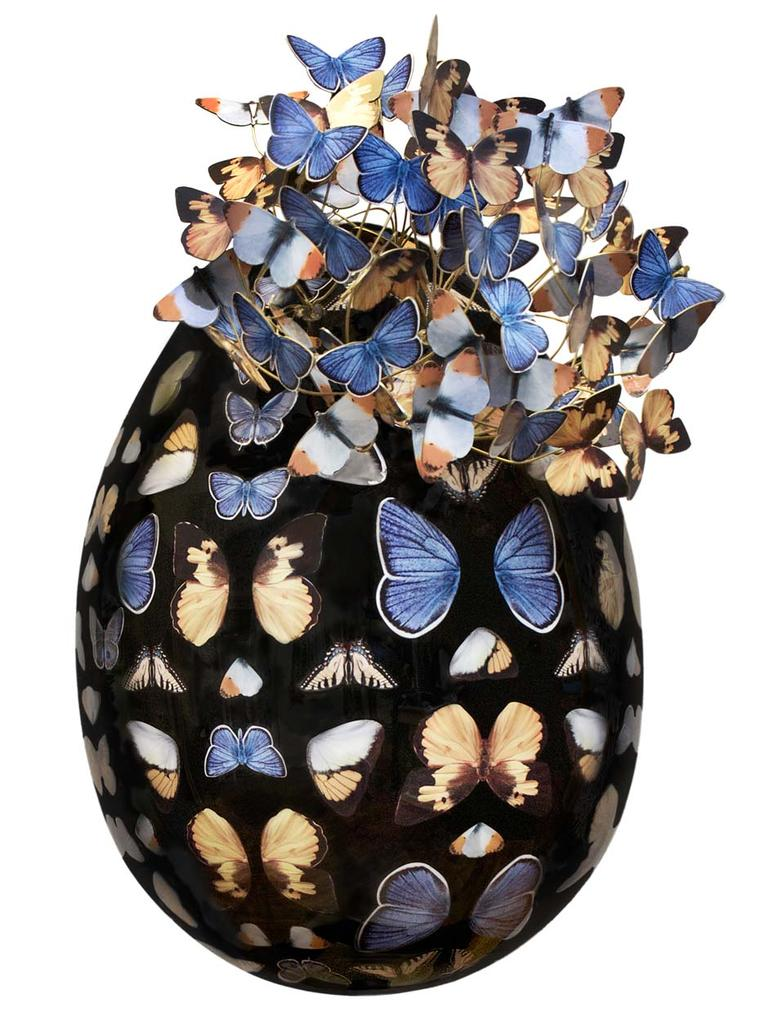 Fabergé Big Egg Hunt Echo Design Egg Sculpture.