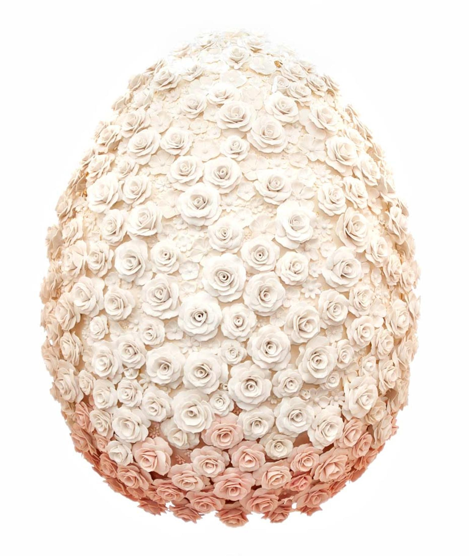 Fabergé Big Egg Hunt - Emma Clegg Egg Sculpture.