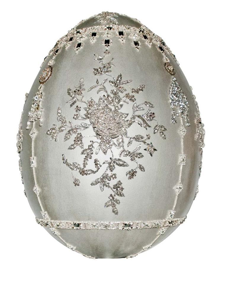 Fabergé Big Egg Hunt Marchesa Egg Sculpture.