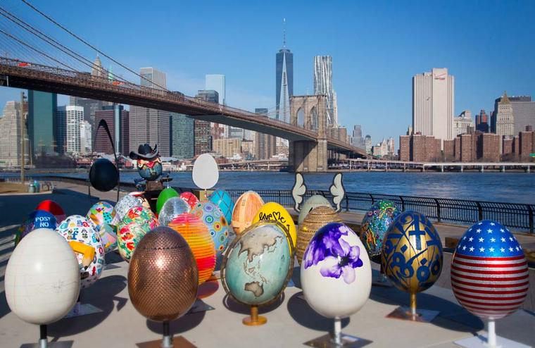 The Faberge NYC Egg hunt: sending New Yorkers on the biggest ever egg hunt this Easter to raise millions for charity
