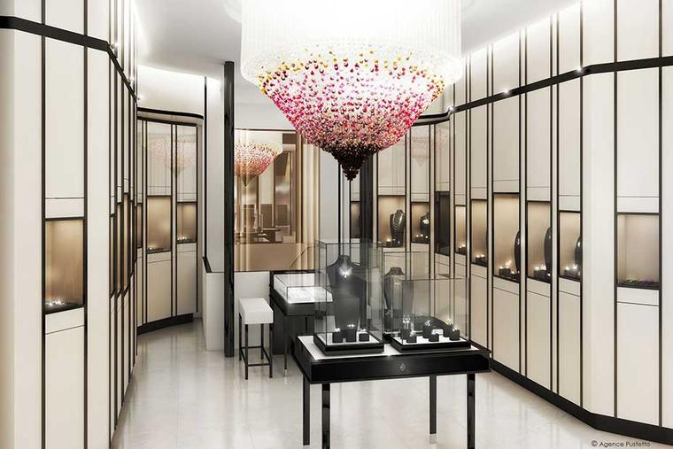 Lalique pays tribute to its founder with the opening of a Lalique fine jewellery shop in Paris
