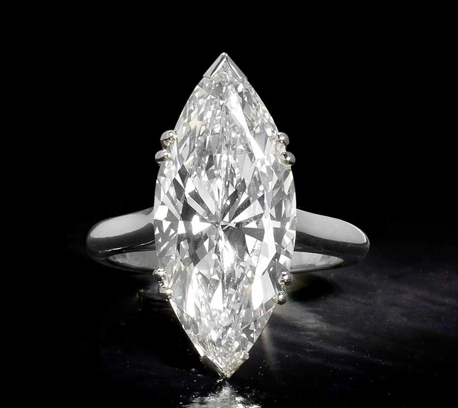 Lot 193, an 8.97ct diamond ring by Piaget (estimate: £250,000-£350,000)