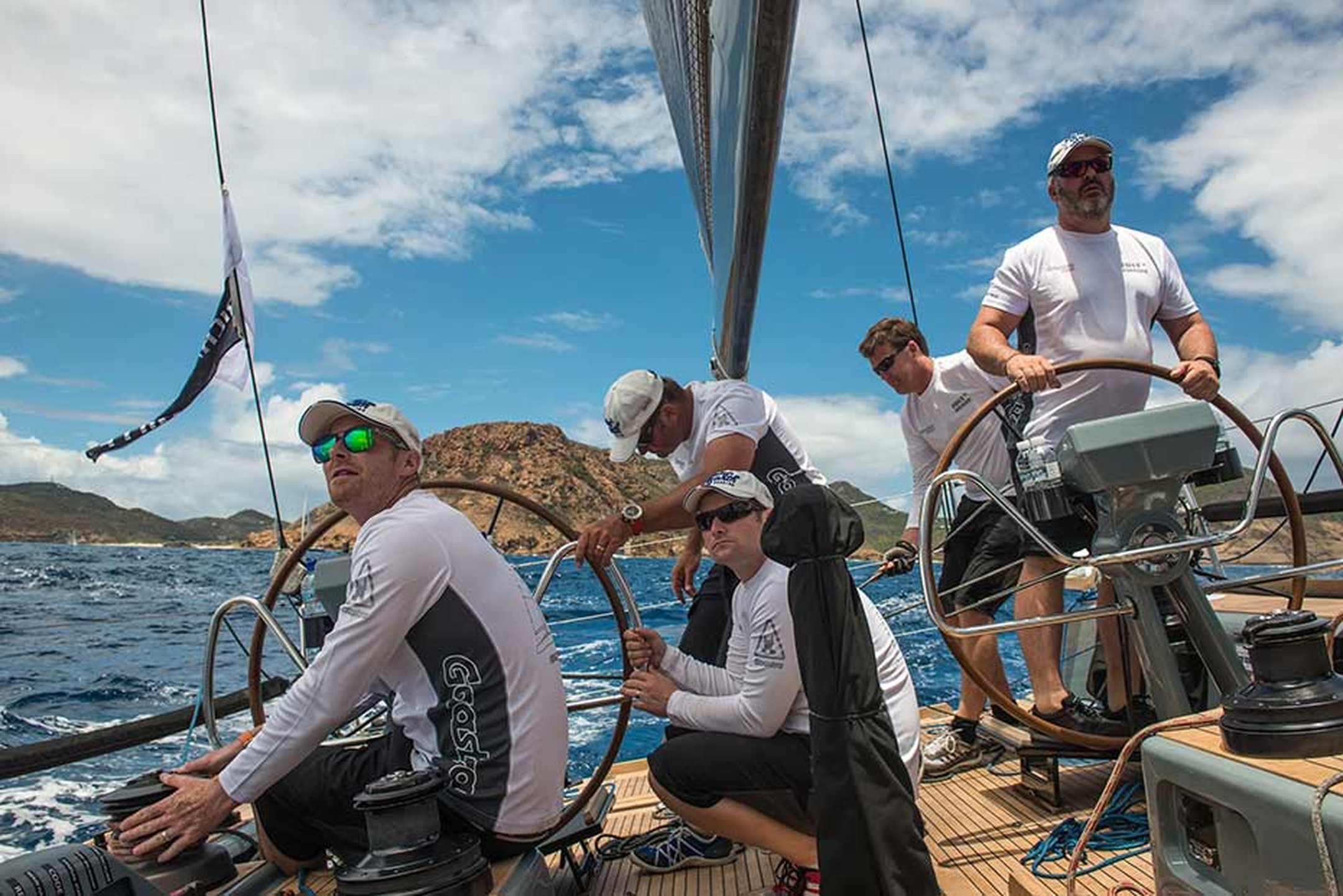 The crew on board Jolt 2 all wore Richard Mille watches for the Les Voiles de Saint Barth 2014 regatta, putting these complex mechanical creations to the ultimate test