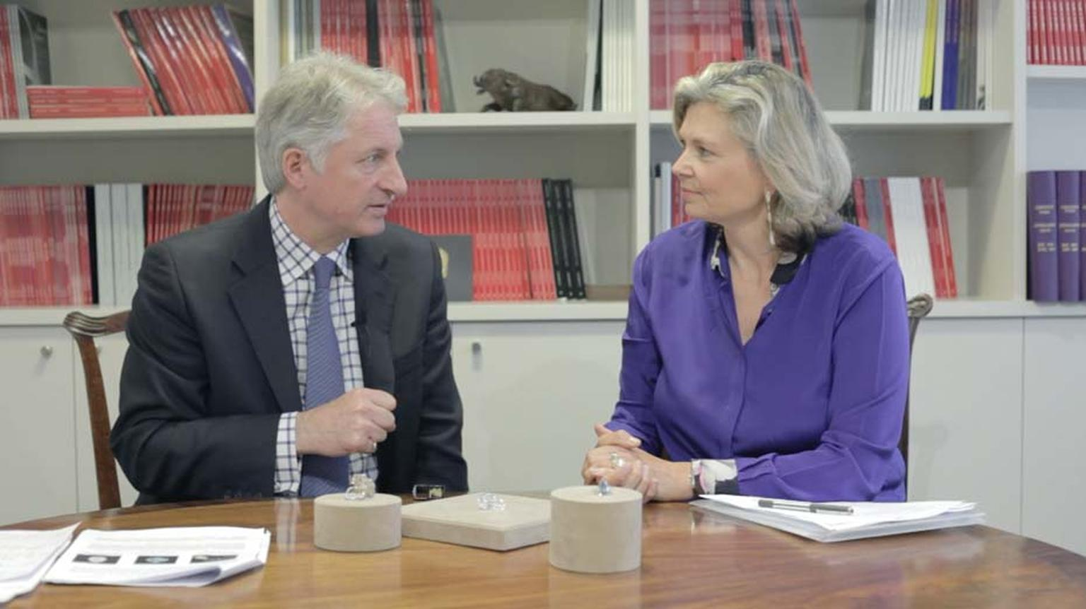 In our latest video, Maria Doulton sits down with David Warren, Christie's International Director of Jewellery, to talk about 'The Blue' and some of the other impressive diamonds coming under the hammer next month