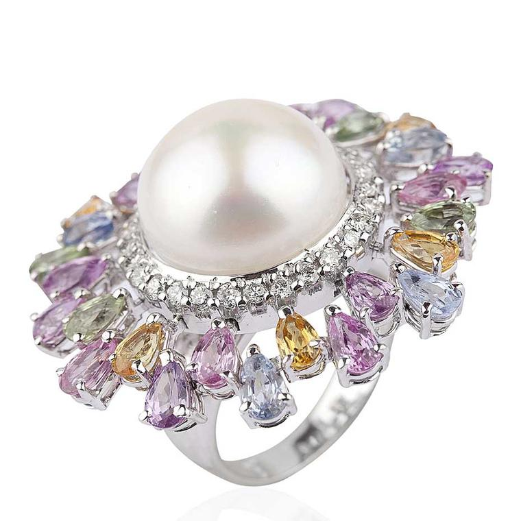 Perfect pastels: Indian jeweller Mirari launches a collection of sorbet coloured jewels for spring