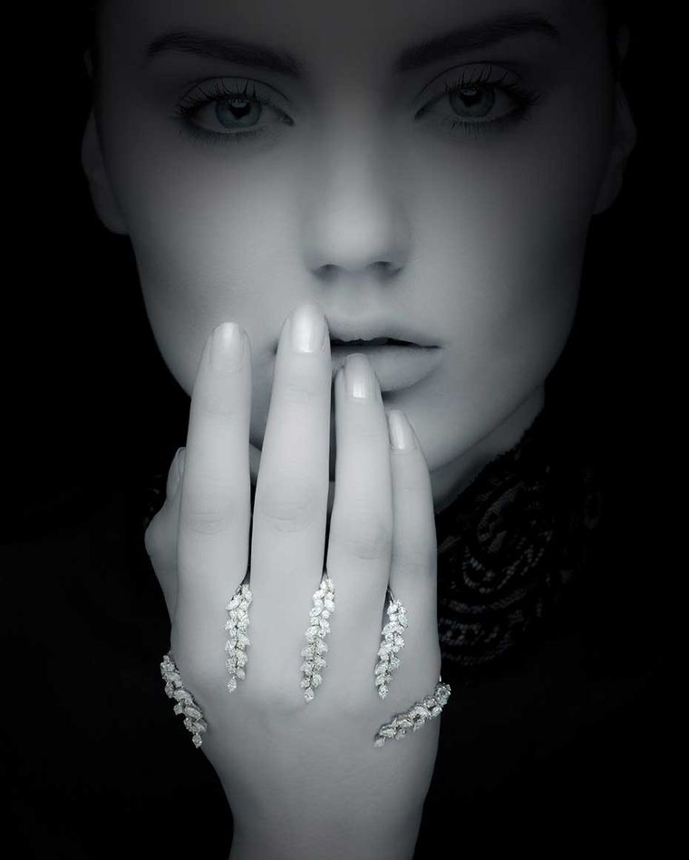 Yeprem will be debuting its unique diamond hand jewels at the 2014 Couture Show Las Vegas