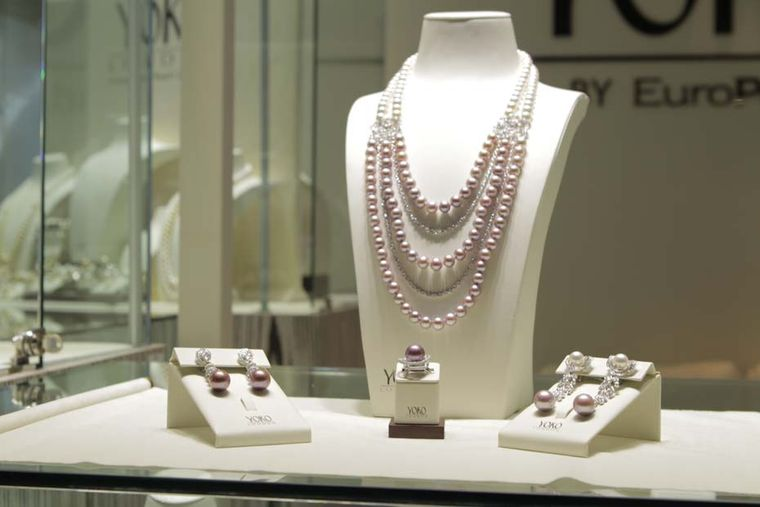 Yoko London's rare purple pearls are hard to miss and easy to appreciate
