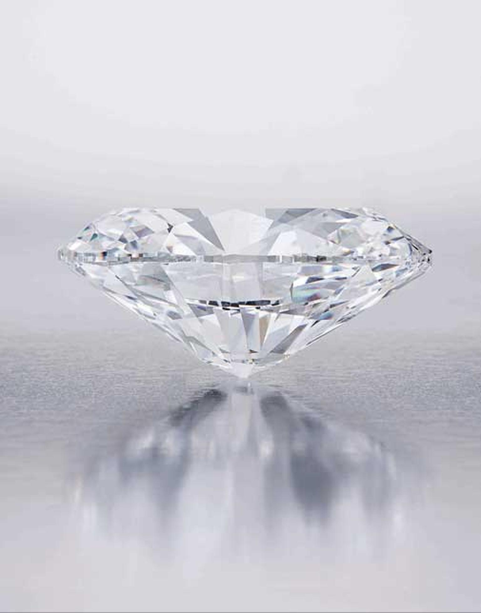 Record breaker? Biggest round diamond in the world for sale