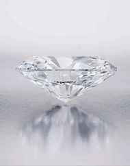The D colour, flawless, Type IIA 118.28ct Oval diamond sold at Sotheby's Hong Kong in October 2013 entered the record books twice, becoming both the highest price ever paid for a colourless diamond and the largest diamond ever to go under the hammer.