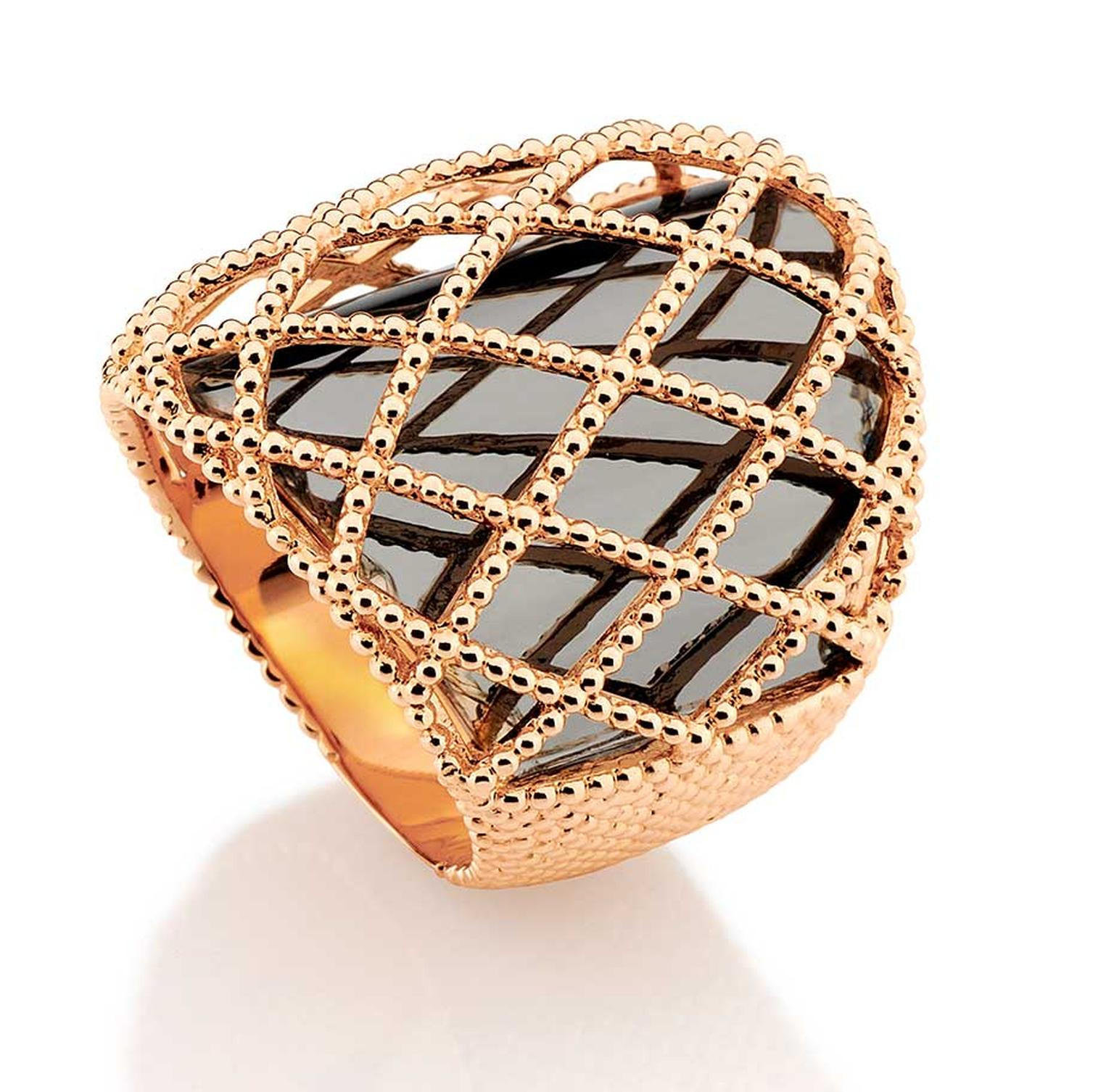 Carla Amorim Russia Collection Chapel ring, inspired by the domes of St Basil's Cathedral in Moscow's Red Square