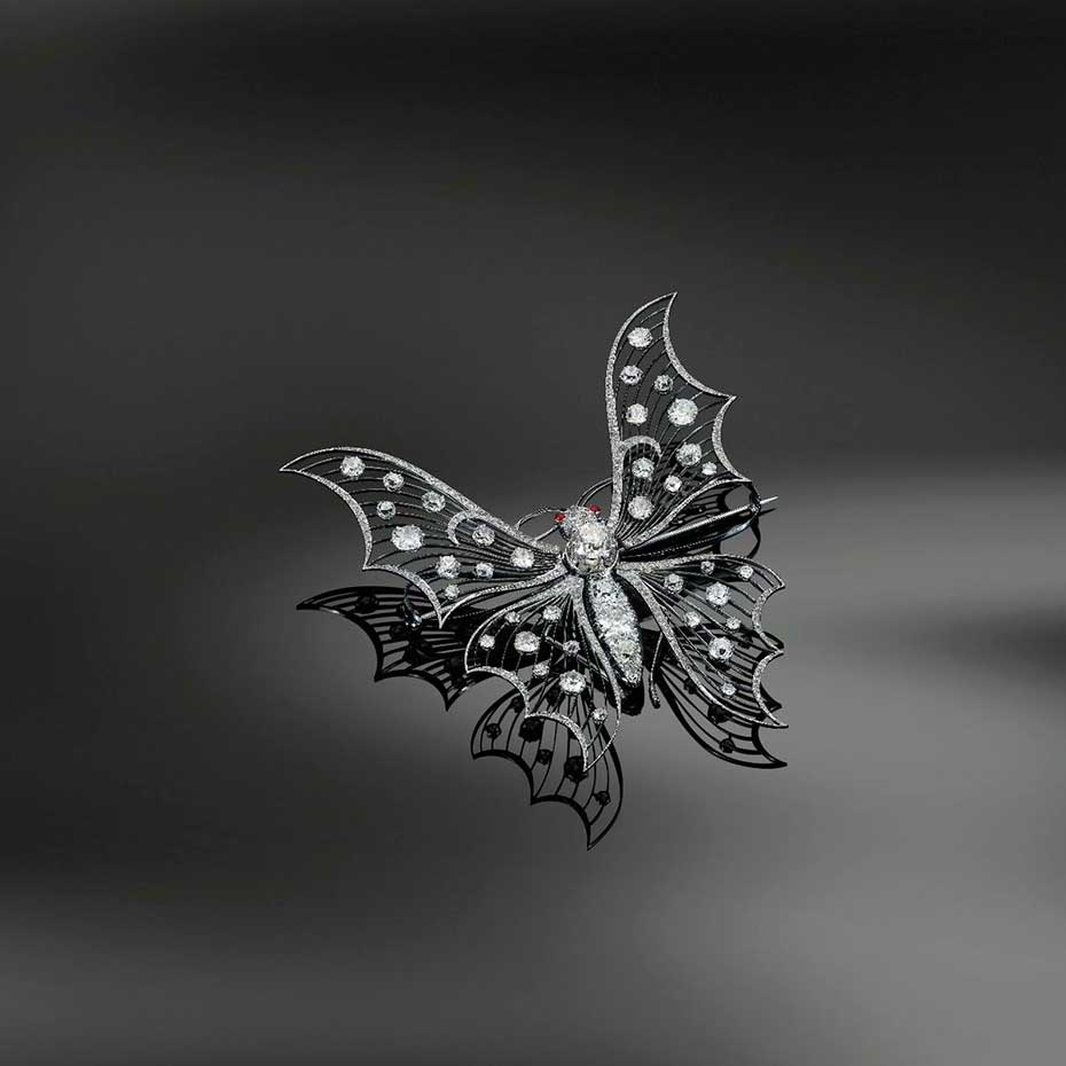 Fred Leighton Belle Epoque butterfly brooch.