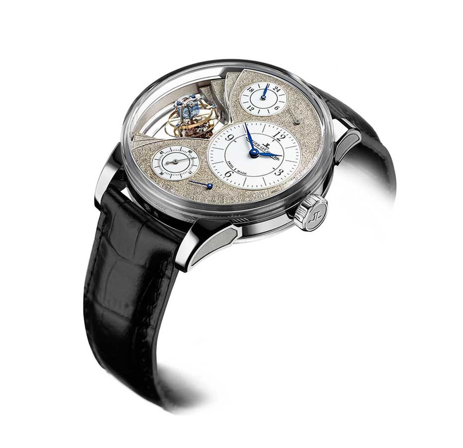 Jaeger-LeCoultre Hybris Artistica collection is a limited edition of just 12 watches.