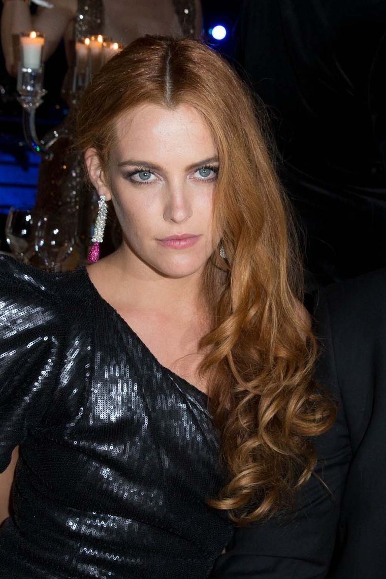 Opposites attract: Riley Keough wore de GRISOGONO's ruby and diamond earrings, set with diamonds and rubies