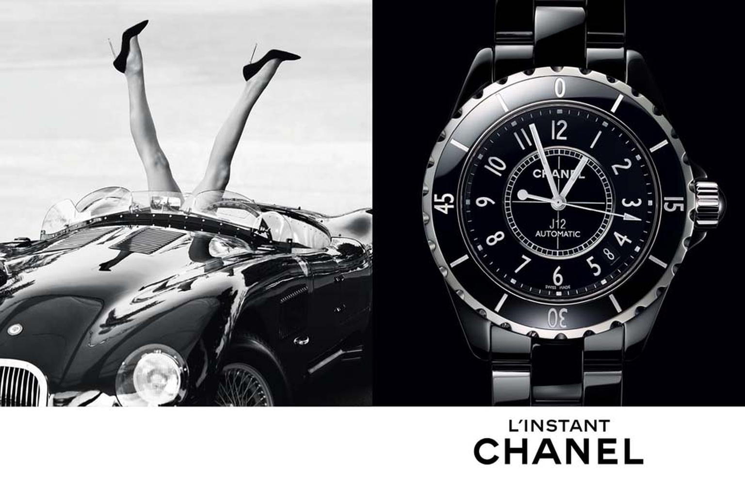 Chanel J12 watch. © CHANEL Horlogerie