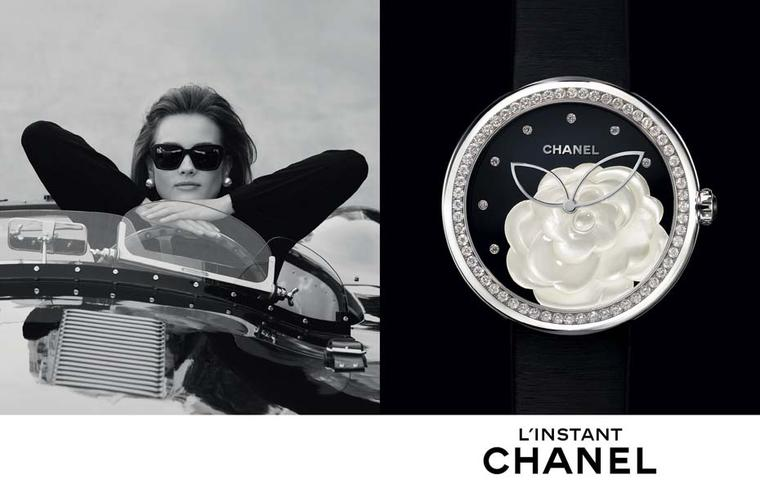 Chanel Mademoiselle Prive watch. © CHANEL Horlogerie