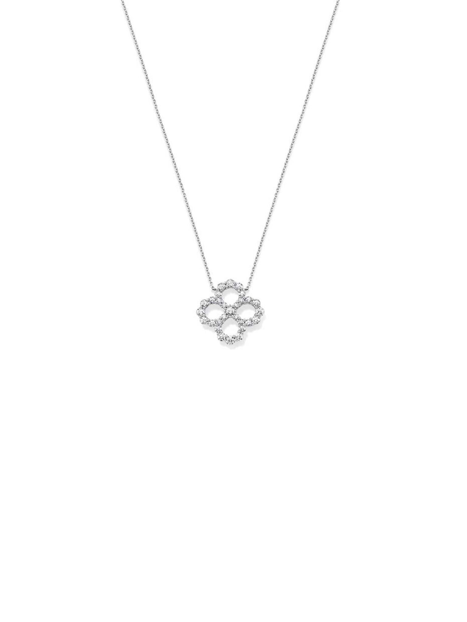 Harry Winston platinum Diamond Loop collection necklace.