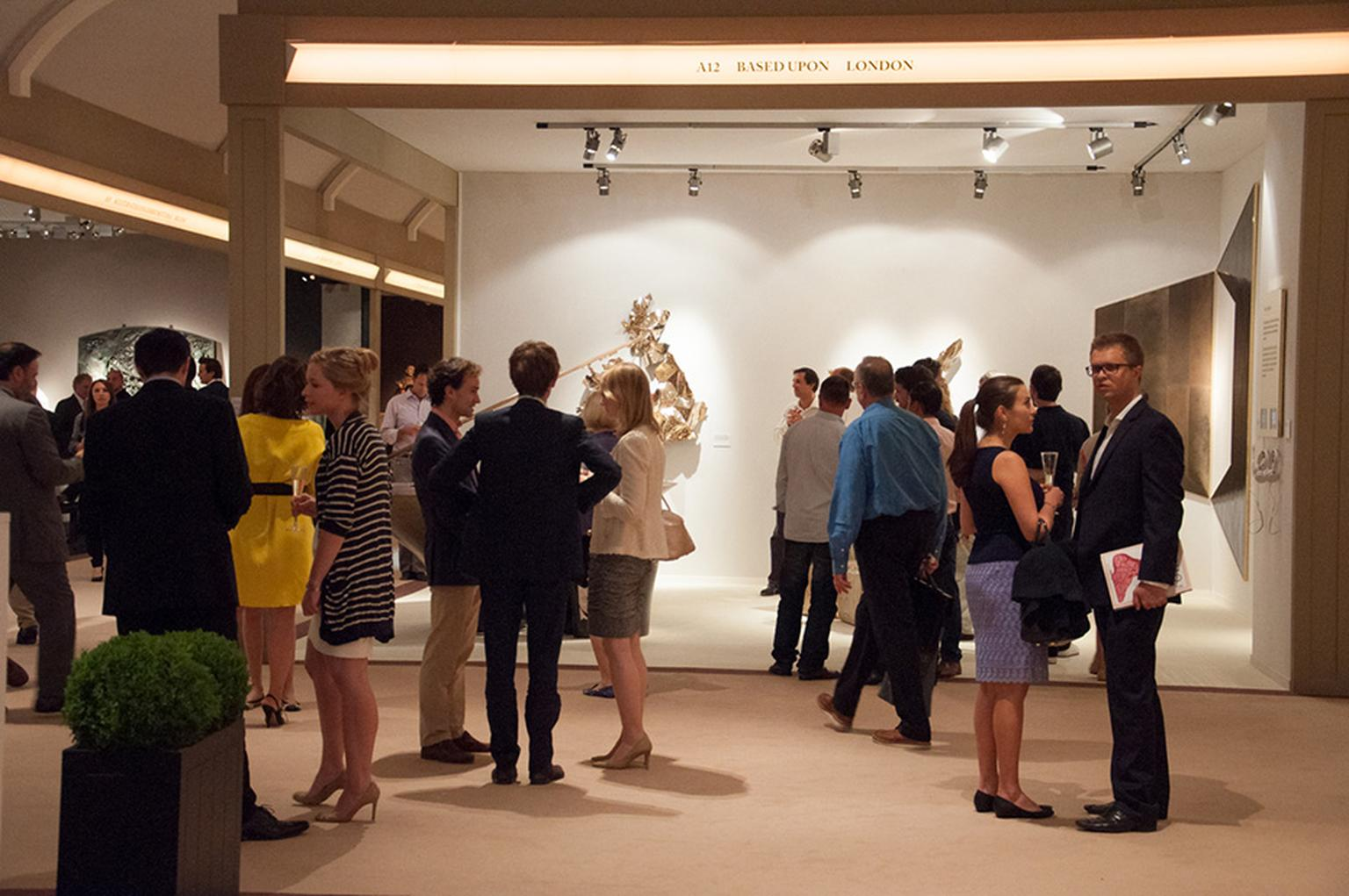 Masterpiece London showcases the best in art, antiques and design, including watches and jewellery, both contemporary and vintage, all of which is available to buy