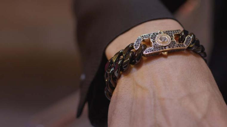 The Couture Show Las Vegas was the perfect opportunity for British jeweller Stephen Webster to show some masculine bracelets that take the brand into a new era of sophisticated men's jewellery