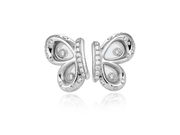 Chopard jewellery the new Happy Diamonds Butterflies collection