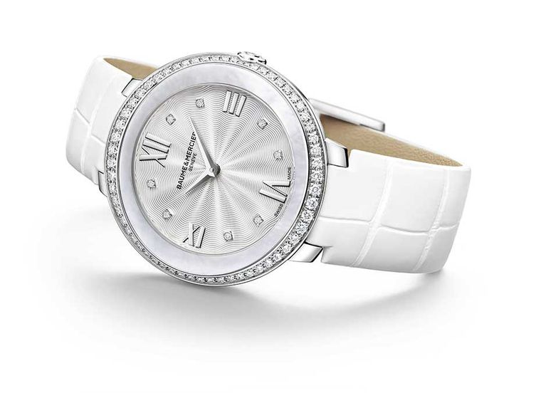 Baume & Mercier is showcasing its new ladies' collection called Promesse at the SIAR Madrid.