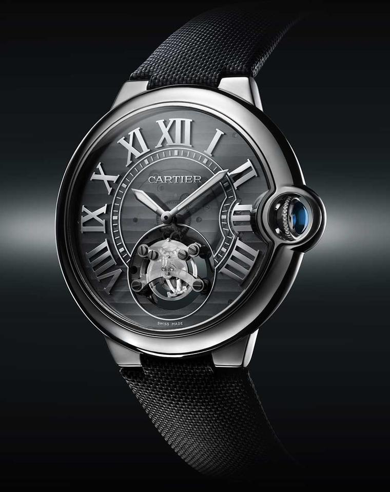 The high-tech ID One is just one of the watches Cartier is showcasing the SIAR in Madrid.
