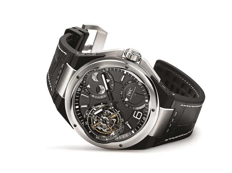 IWC is flexing its muscles at the SIAR in Madrid with a new Ingenieur Constant-Force Tourbillon.